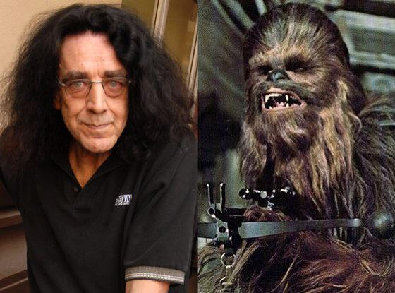 Peter Mayhew interpretó a Chewbacca