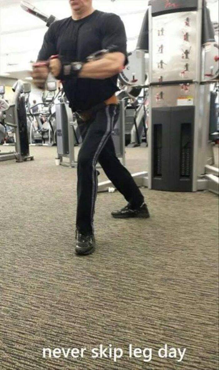 hacer gimnasio el pierna olvidaron que Hombres en 20