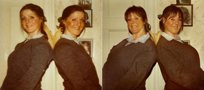 gemelas londinenses campbell no cambiaron en 20 años