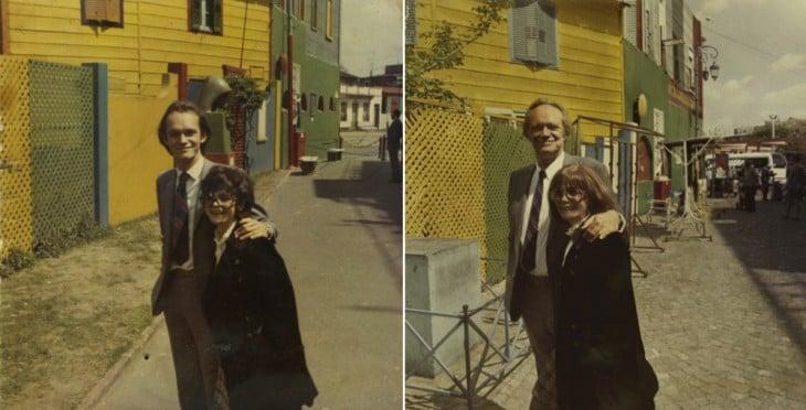 padres de la fotografa irina werling en 1970