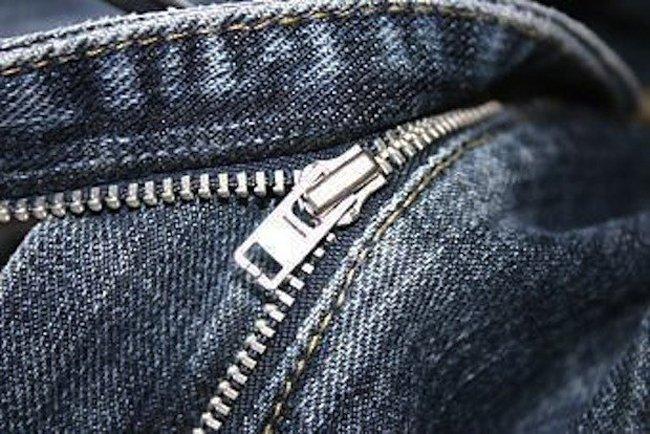 cierre de un pantalón