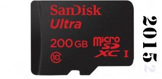 2015 memoria de 200 GB