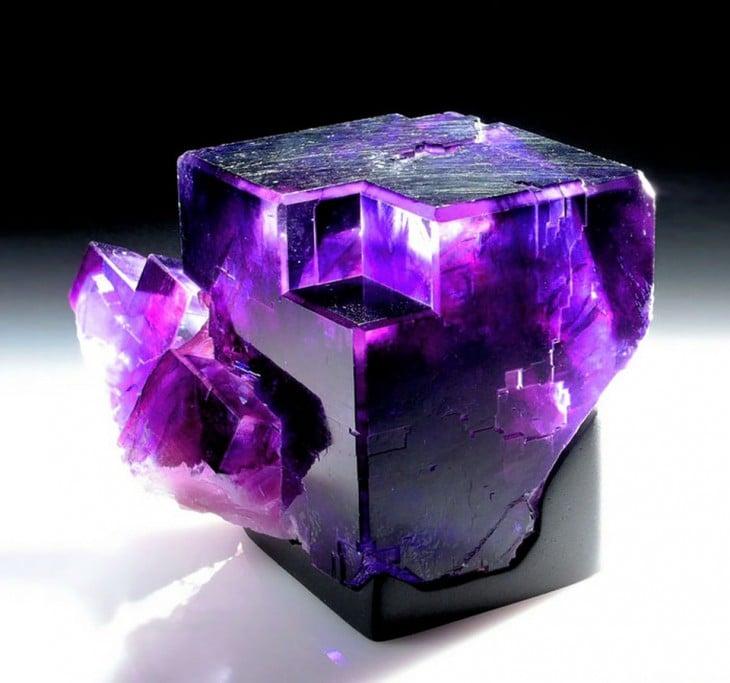 piedras preciosas fluorita