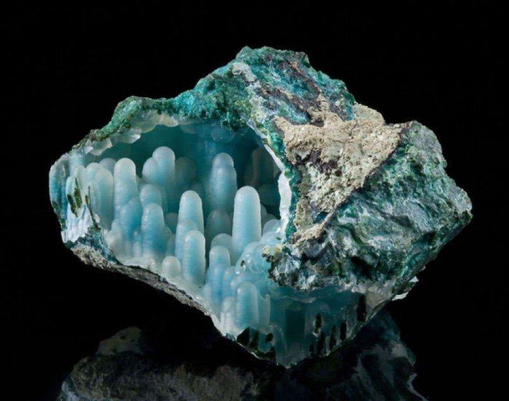 piedras preciosas malaquita