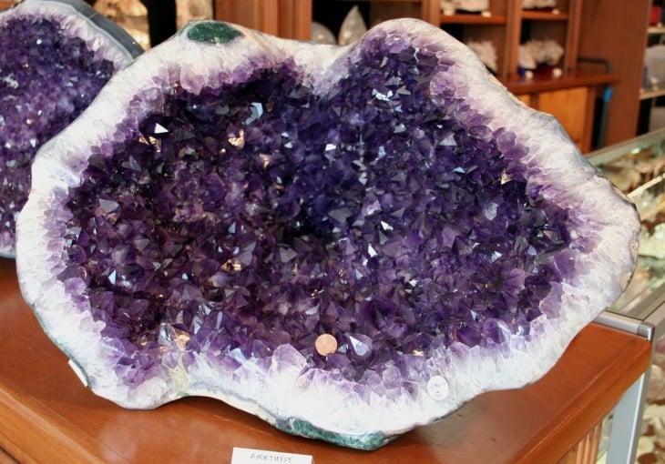 piedra preciosa ametista