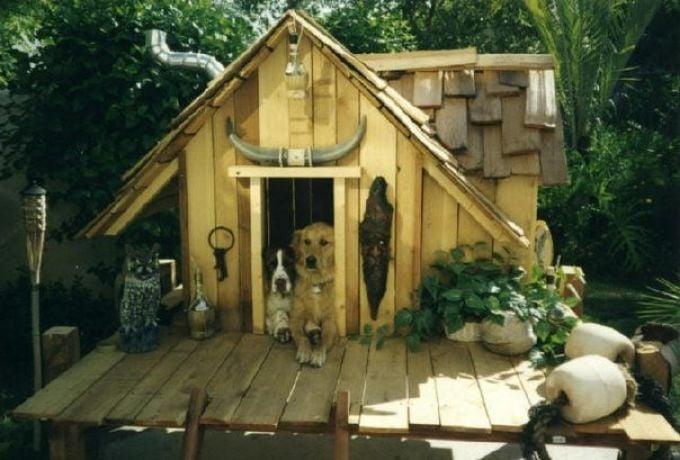 casa de madera estilo vaquero