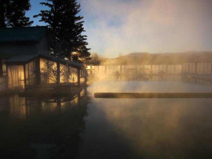 aguas termales en Takhini canadá