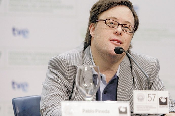 Pablo pineda en TVE