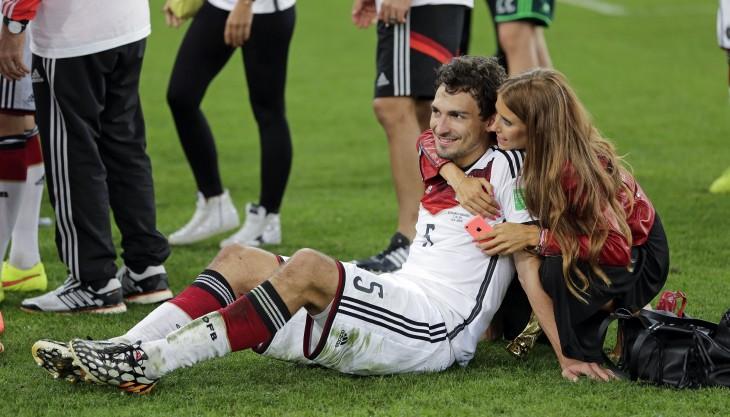 novia de equipo aleman