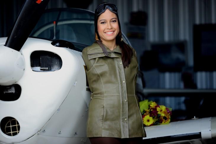 jessica Cox aviador