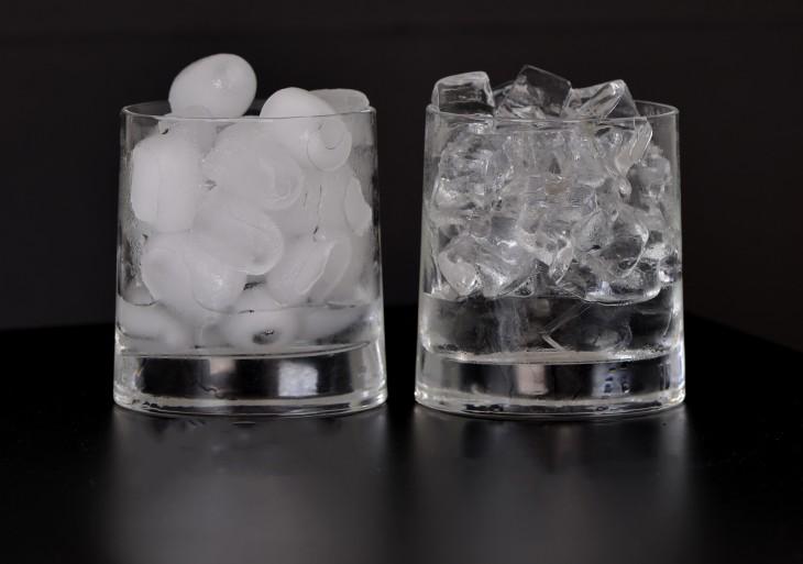 como hacer hielos transparentes en dos pasos