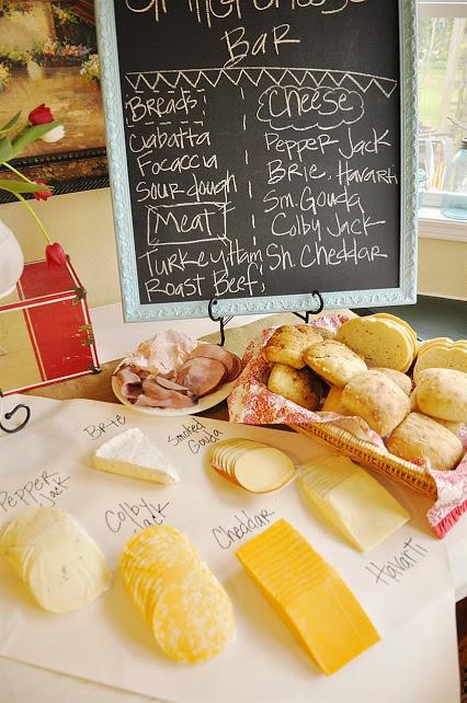 decoracipn papel craft o estraza para mesa buffet
