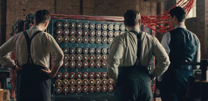 escena del codigo enigma