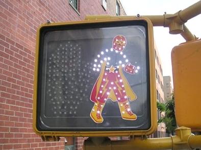 semaforo peatonal hackeado