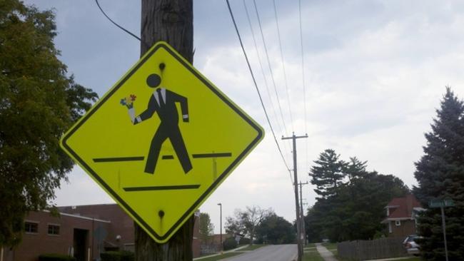 crece peatonal hackeado