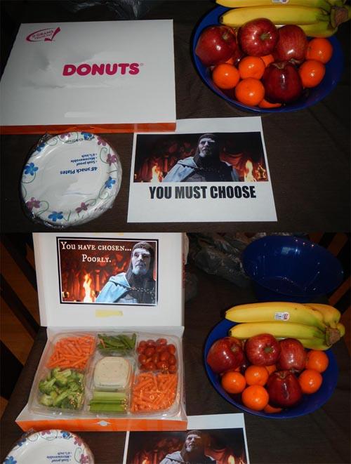 broma para los dietistas forever donuts