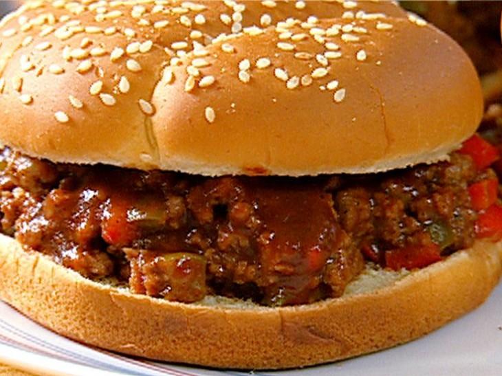 torta estilo hamburguesa