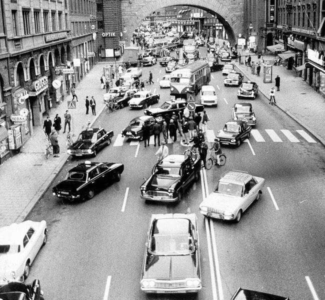 primeravez en que cambiaron los sentidos de las calles en australia