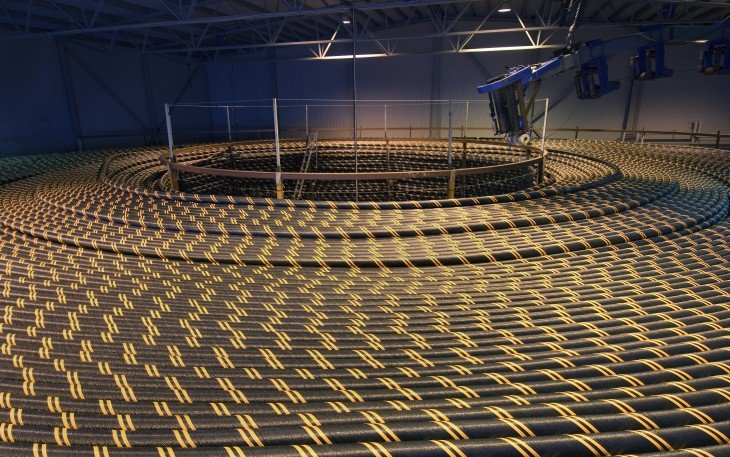 Cables de energía eólica