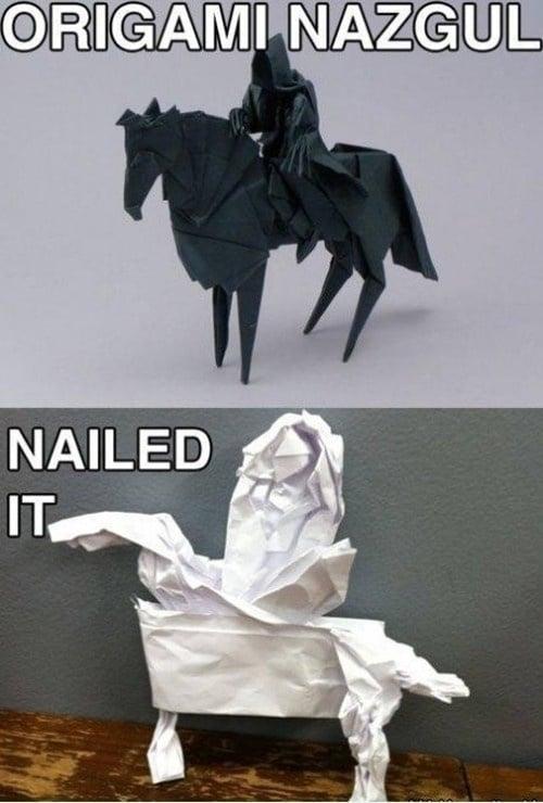 fail caballo origami