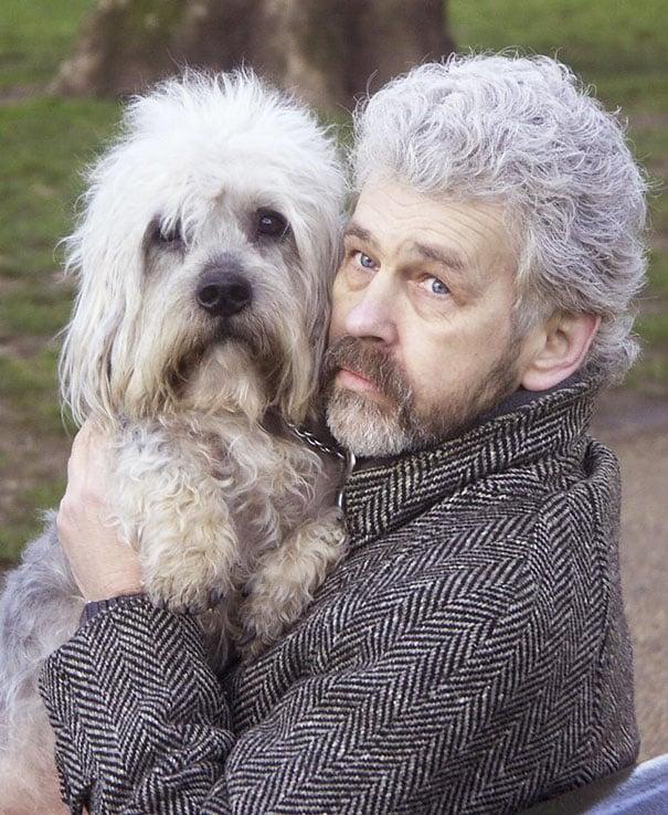 perro y dueño se parecen en algunos rasgos