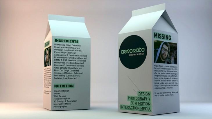 carton de leche curriculo