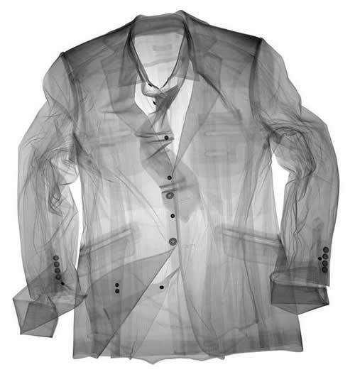 camisa en rayos X