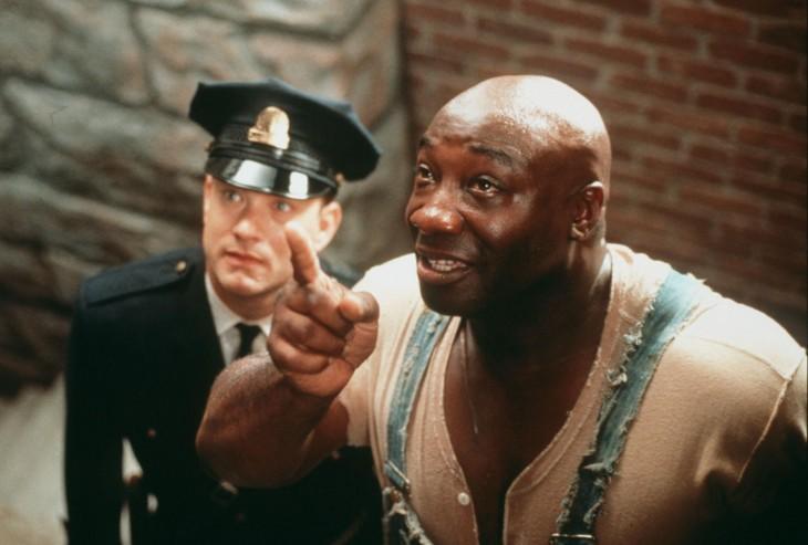 escena de green mile donde le pide duncan a tiom hanks el raptoncito que esta en la prisión
