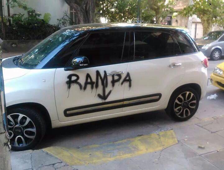 le rayan auto con la palabra rampa