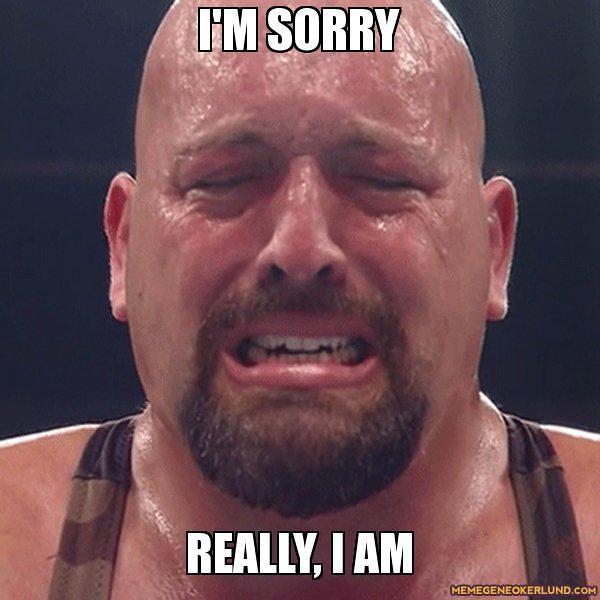 meme luchador am sorry