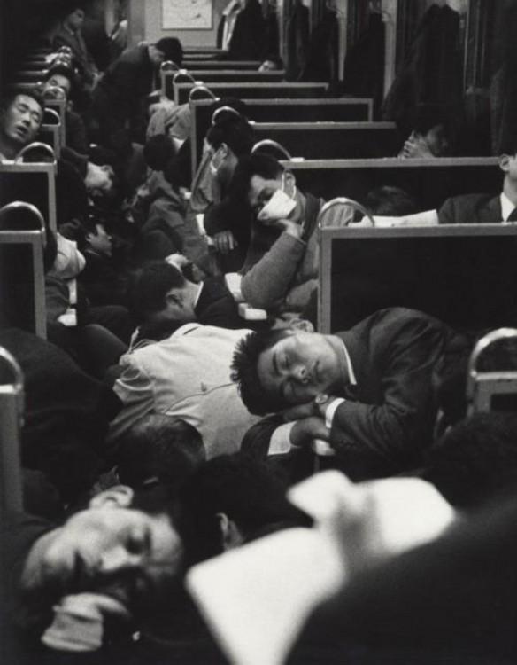 primer tren de la mañana, japon 1964
