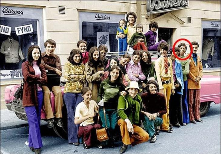 osama bin laden vacionando en suecia 1970