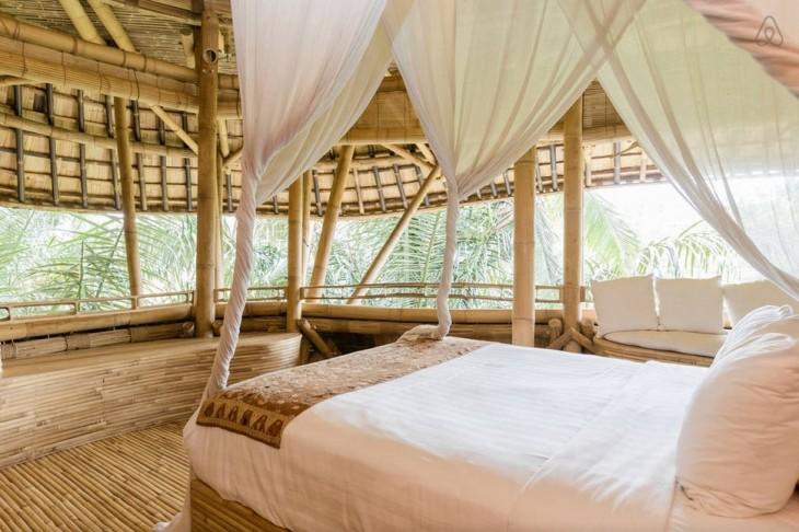 habitacion en bamboo