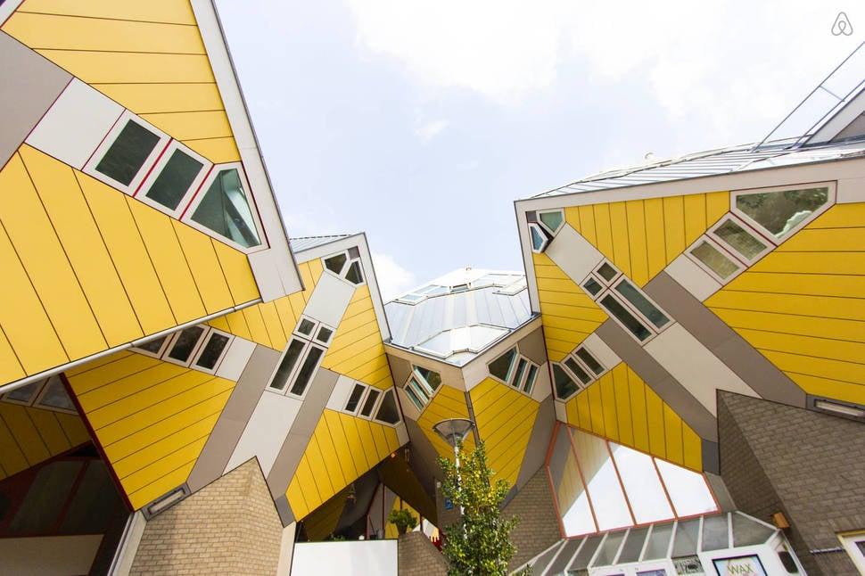 Baño Turco Obra De Teatro:Rotterdam Cube House Holland