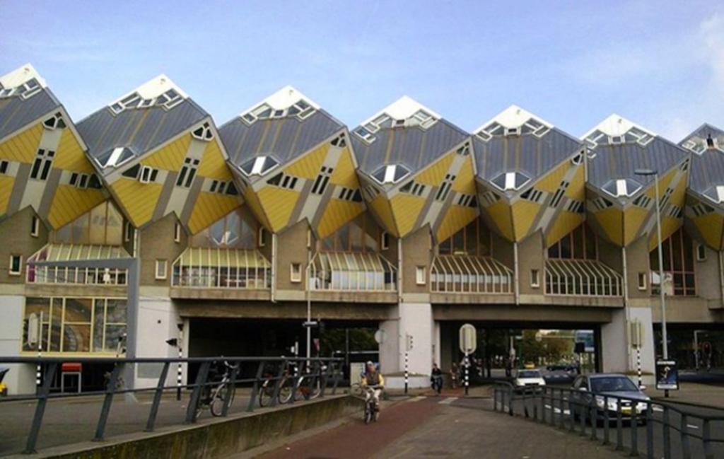 Casas y edificios surreales de la ingeniería y arquitectura