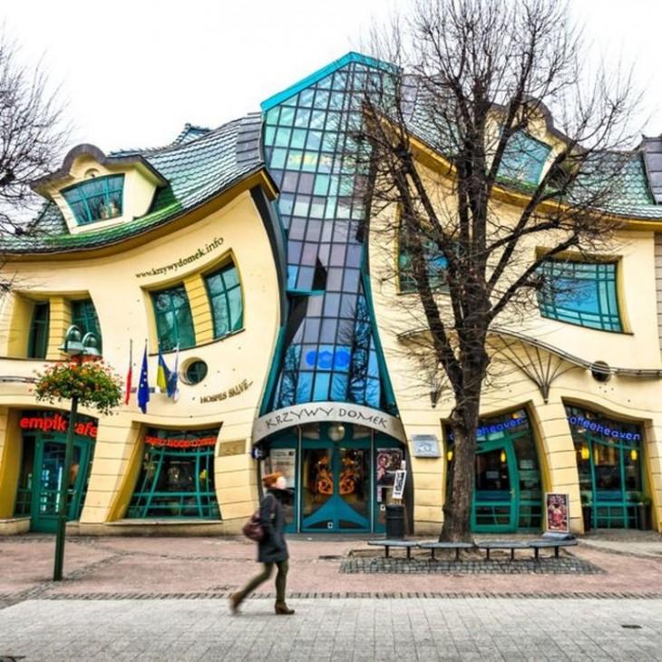 Sopot, Polonia casa apretandose