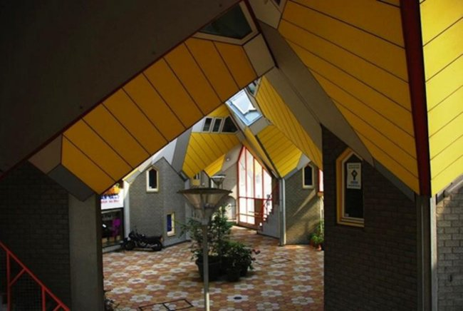"Roterdam Holanda, ""Kubuswoningen""  casa cubos"