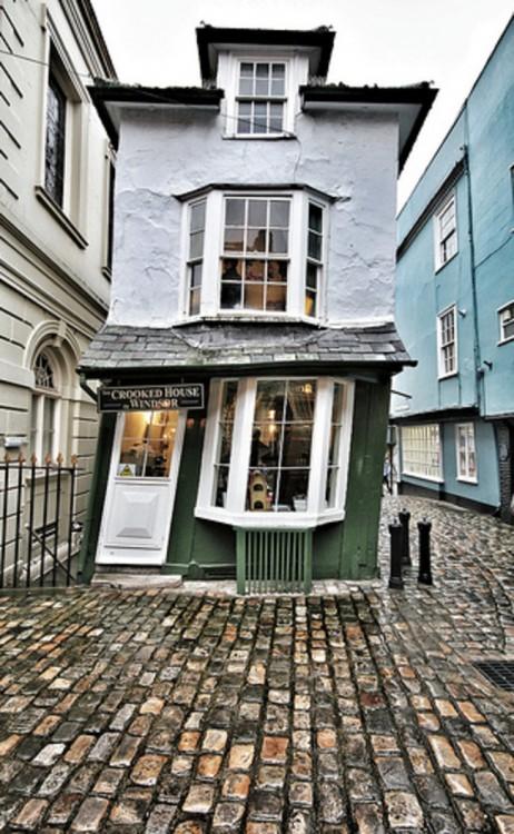 Windsor, Inglaterra casa torcida