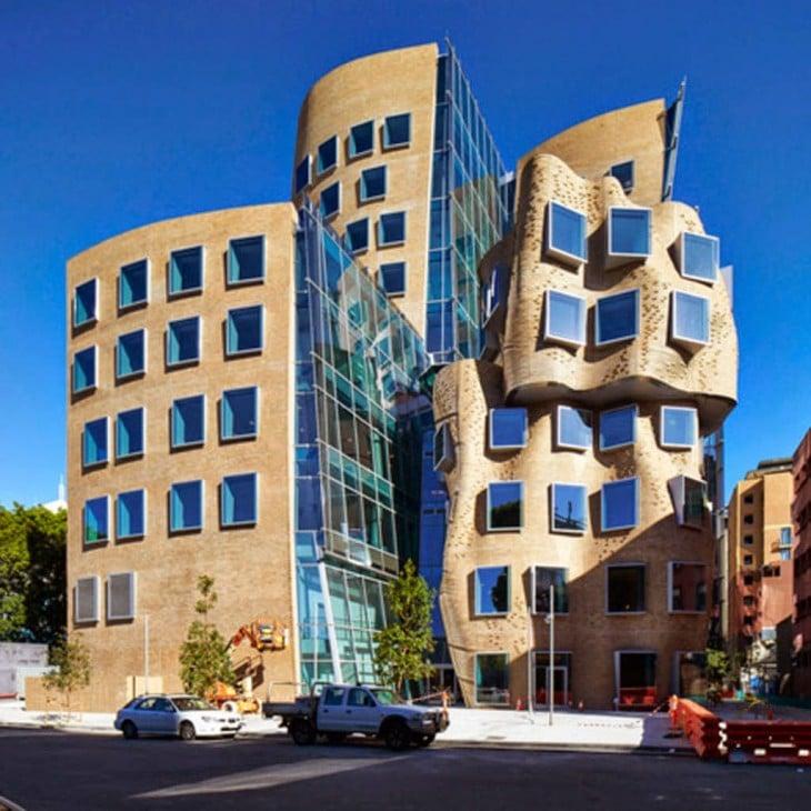 Sydney, Australia edificio separandose