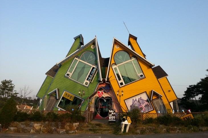 Isla Ganghwa, Corea del sur casas que se abrazan