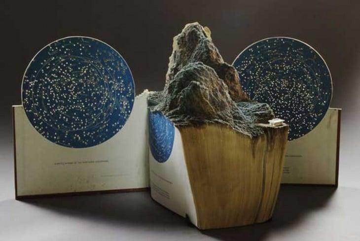 libro hecho arte forma del cosmos