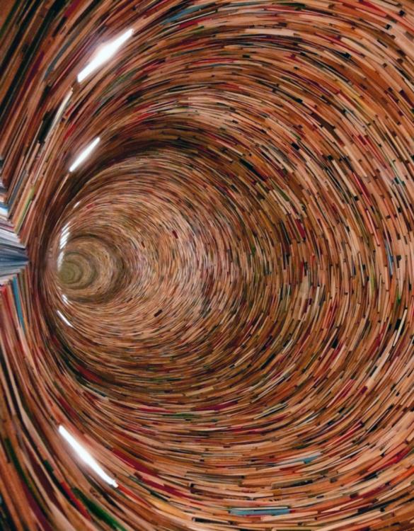 libro hecho arte tunel de tiempo