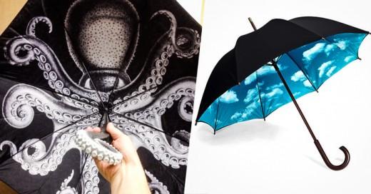 La creatividad no tiene limites hasta en esos días lluviosos