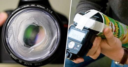 Pequeños trucos caseros para tomar fotografías como todo un profesional