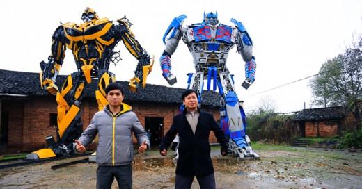 De tal Padre tal habilidad para recrear a los autobots