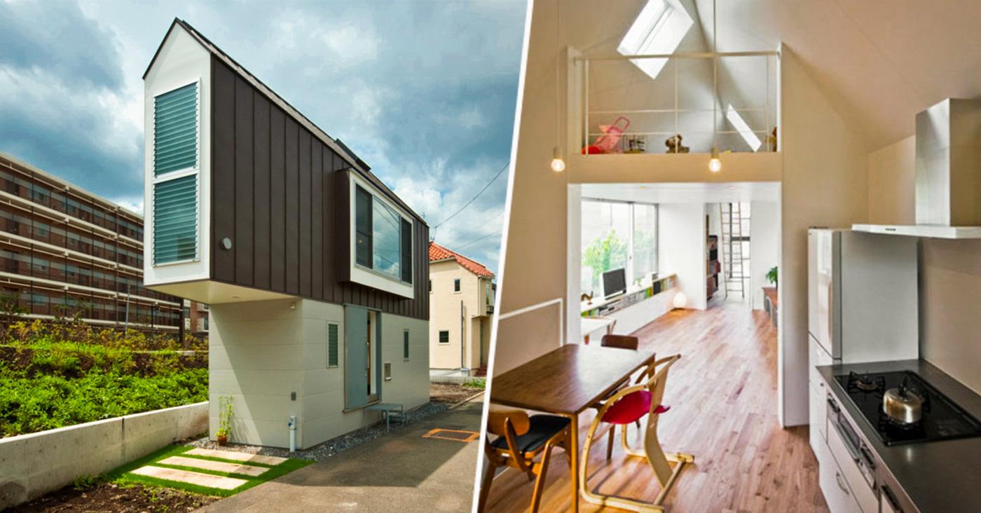 Esta casa triangular es incre blemente lujosa por dentro for Casas con escaleras por dentro