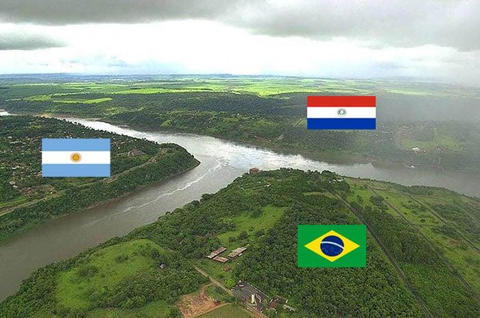 Triple frontera Brasil, Argentina, Paraguay
