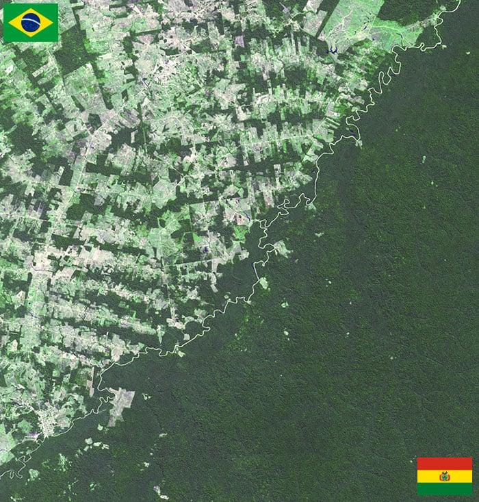 Frontera Brasil - Bolivia