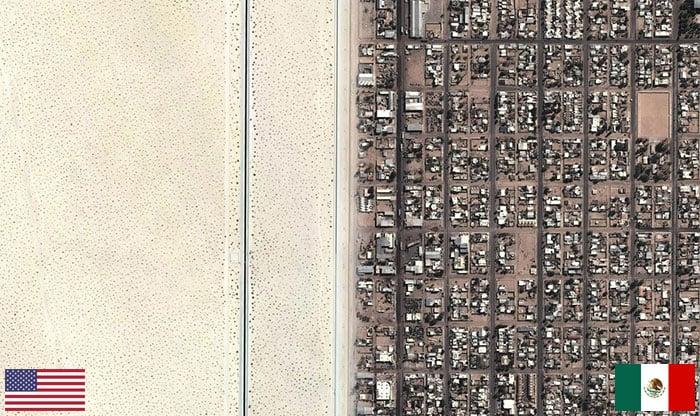 Frontera Mexico-EE.UU.