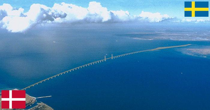 Puente frontera Suecia-Dinamarca